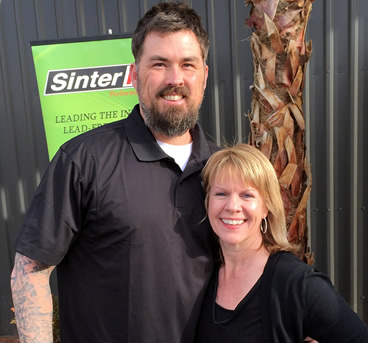 Jody Salerno with Marcus Luttrell